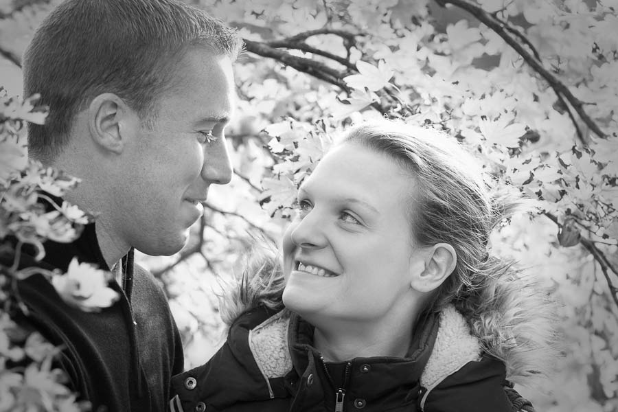 Engagement photography at Goldsborough Hall. Photography by Valentina Weddings