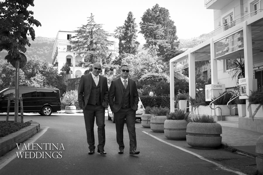 Wedding held at the Cloisters in Sorrento. Photography by Valentina Weddings