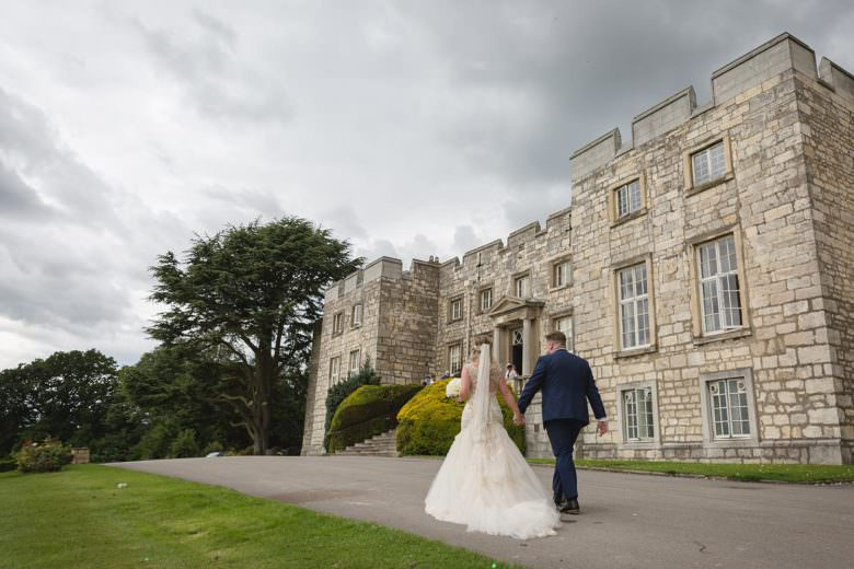 Hazlewood Castle wedding venue